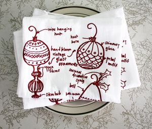 Ornaments towel 3